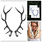 Tattify Antlers - temporary tattoo (Set of 2)