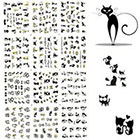 Amazon BTArtbox 3D Nail Art Stickers 1 Pack 12 Different Cute Cat Designs Best Nail Art Decals For Ladies