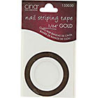 Cina Nail Creations Gold Nail Striping Masking Tape in Gold