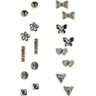 Boohoo Jayne Assorted Earring Stud Pack