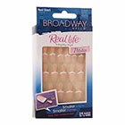 Broadway Nails Real Life Press-On Petites Nails, Real Short, Peach