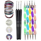 Vaga Vaga Professional Nail Art Decorations Tools Kit (6 Items)