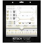Kitsch Kitsch Geometric Tattoo Set in Multicolor