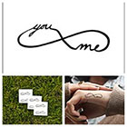 Tattify Infinity - temporary tattoo (Set of 2)