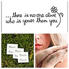 Tattify Youer Than You - temporary tattoo (Set of 2)