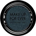 Make Up For Ever Artist Shadow Eyeshadow and powder blush in S228 Petrol Blue (Satin) eyeshadow