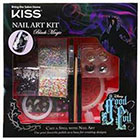 Kiss Kiss Disney Kit Good Evil Nail Art Kit Black Magic (Black & Silver) 1.0set