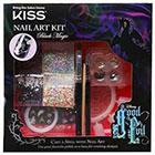 Kiss Kiss Disney Kit Good Evil Nail Art Kit Black Magic (Black & Silver) 1.0set