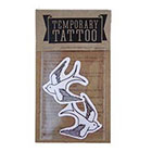 de Krantenkapper Swallow Temporary Tattoo set of two