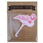 de Krantenkapper Flamingo Temporary Tattoo