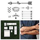 Tattify Arrow Set - Temporary Tattoo (Set of 7)