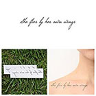 Tattify Bohemia - Temporary Tattoo (Set of 2)