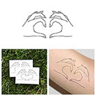 Tattify Come Together - Temporary Tattoo (Set of 2)
