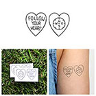 Tattify Encompassed - Temporary Tattoo (Set of 2)