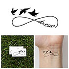 Tattify Infinity - Dream - Temporary Tattoo (Set of 2)