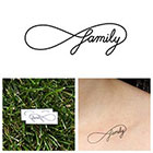 Tattify Infinity - Family - Temporary Tattoo (Set of 2)
