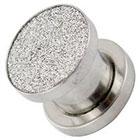 Supreme Jewelry Plug Earrings Gauge 0 in Silver
