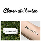 Tattify Sneak - Temporary Tattoo (Set of 2)