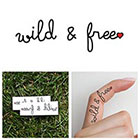 Tattify Spirit - Temporary Tattoo (Set of 2)