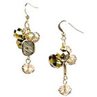 Target Dangle Earrings Antique - Gold