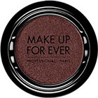 Make Up For Ever Artist Shadow Eyeshadow and powder blush in ME828 Garnet Black (Metallic) eyeshadow
