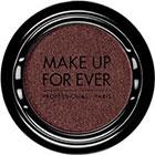 Make Up For Ever Artist Shadow Eyeshadow and powder blush in ME828 Garnet Black (Metallic) eyeshadow