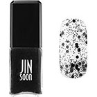 JINsoon Nail Lacquer in Polka Black black contrasting polka dot