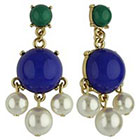 Target Social Gallery by RomanTM Drop Dangle Cabochon Earrings - Multicolor