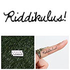 Tattify Riddikulus! - Temporary Tattoo (Set of 2)
