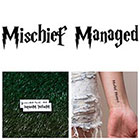 Tattify Harry Potter - Mischief Managed - Temporary Tattoo (Set of 2)