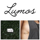 Tattify Harry Potter - Lumos - Temporary Tattoo (Set of 2)
