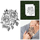 Tattify Twin Rose - Temporary Tattoo (Set of 2)