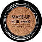 Make Up For Ever Artist Shadow Eyeshadow and powder blush in ME700 Amber (Metallic) eyeshadow