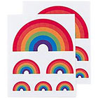 Tattly Tattly Temporary Tattoos, Rainbow, 0.1 Ounce in