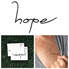 Tattify Hope - Temporary Tattoo (Set of 2)