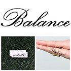 Tattify Balance - Temporary Tattoo (Set of 2)