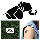 Tattify Geometric Elephant - Temporary Tattoo (Set of 2)