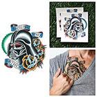 Tattify Star Wars - Darth Vader Helmet - Temporary Tattoo (Set of 2)