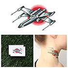 Tattify Star Wars - Fighter Ship - Temporary Tattoo (Set of 2)