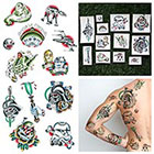 Tattify Lightspeed - Temporary Tattoo Pack (Set of 12)