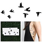 Tattify Flock Yeah - Temporary Tattoo (Set of 2)