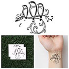 Tattify Three Little Birds - Temporary Tattoo (Set of 2)