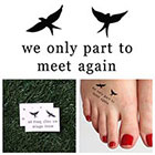 Tattify Boomerang - Temporary Tattoo (Set of 2)