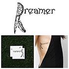 Tattify Daydreaming - Temporary Tattoo (Set of 2)