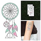 Tattify Pastel, Present, Future - Temporary Tattoo (Set of 2)