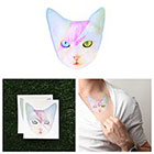 Tattify David Meowie - Temporary Tattoo (Set of 2)