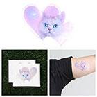 Tattify Meowter Space - Temporary Tattoo (Set of 2)