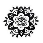 InknArt 2pcs mandala Vintage pattern - InknArt Temporary Tattoo - hand writing temporary tattoo wrist neck ankle wedding fake faux tattoo