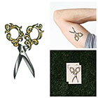 Tattify Cut it Out- Temporary Tattoo (Set of 2)