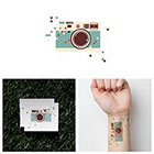 Tattify Pixel Dust - Temporary Tattoo (Set of 2)